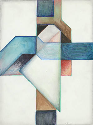 Painting - Jesus Cross L X 85 by Willy Wiedmann