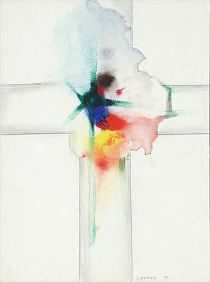 Painting - Jesus Cross LXXXIXC 85 by Willy Wiedmann