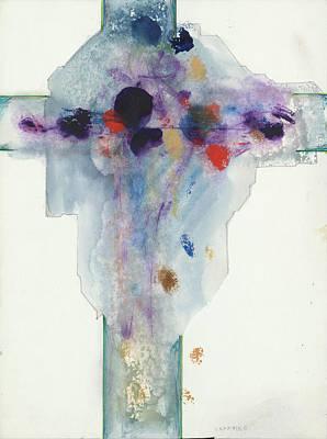 Painting - Jesus Cross LXXXVIIIC by Willy Wiedmann