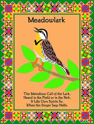 Meadowlark Digital Art
