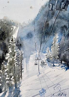 Steamboat Mountain Paintings