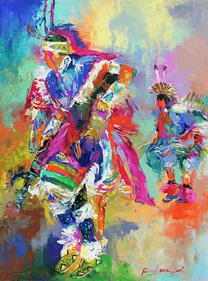 Pow Wow Paintings