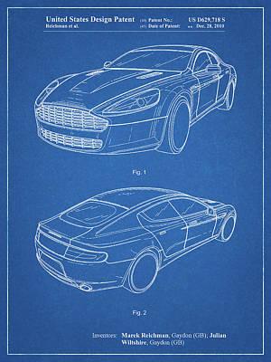 Aston Martin Dbs Art Fine Art America