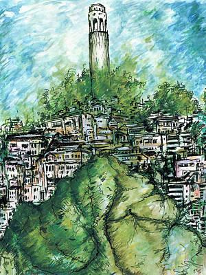 Coit Tower Art