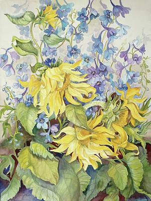 Delphinium Paintings