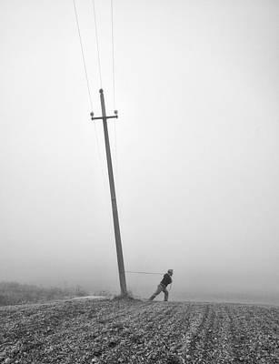 Telephone Poles Art