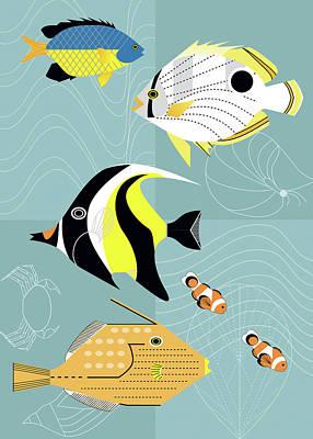 Surgeonfish Art