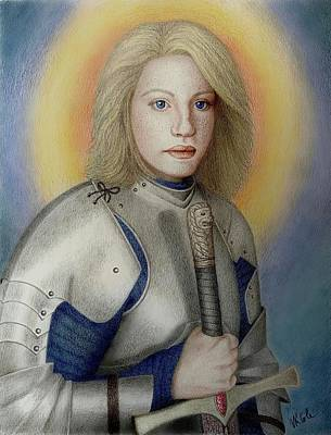 Drawing - Brienne the Beauty by Vanessa Cole
