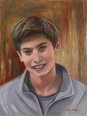 Painting - Christian by Alice Betsy Stone