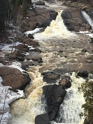 Photograph - Cross River Falls by Daniel Derieg