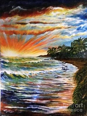 Painting - Expection by Michael Silbaugh