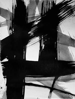 Painting - Ink Study #1 by Eliaichi Kimaro