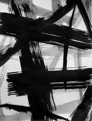 Painting - Ink Study #2 by Eliaichi Kimaro