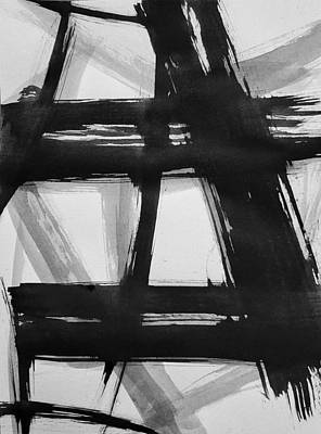 Painting - Ink Study#3 by Eliaichi Kimaro