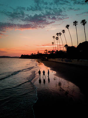Photograph - Montecito Three's Company by Seascaping Photography