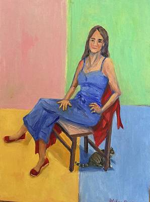 Painting - Red Shoes by Bonnie Wilber