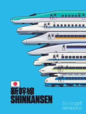 Bullet Train Art
