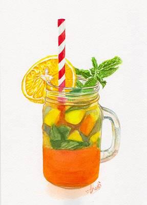 Painting - Summer Drink by Swati Singh