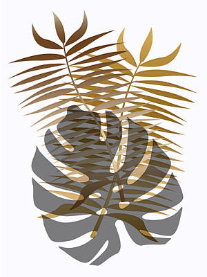 Digital Art - Tropical Trio by Mark Smith