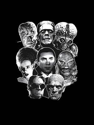Universal Monsters Digital Art
