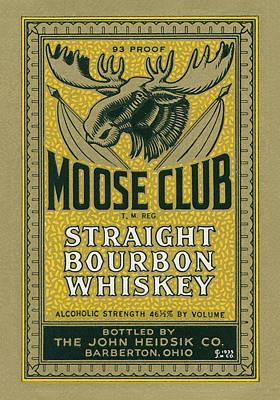 Designs Similar to Moose Club Bourbon Label