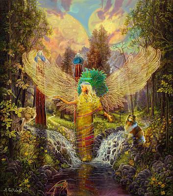 Archangel Haniel Prints
