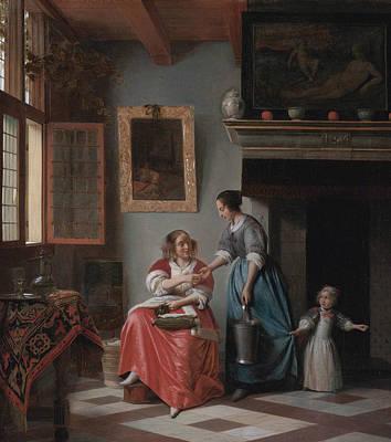 Pieter De Hooch Art Prints