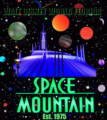 Designs Similar to Space Mountain Poster 1975