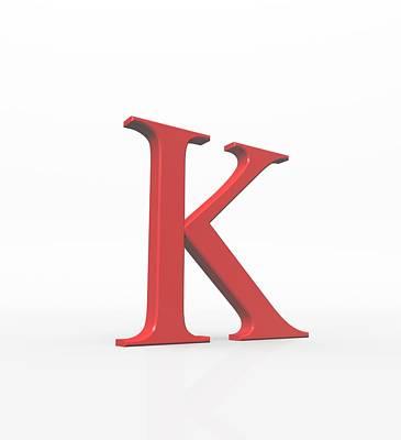 Designs Similar to Greek Letter Kappa, Upper Case