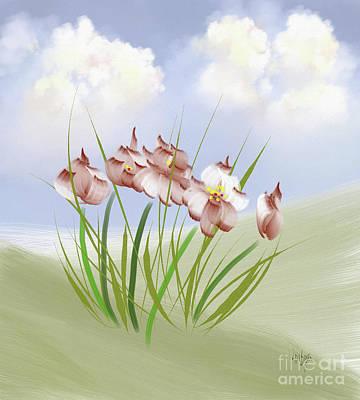 Designs Similar to Flowers On The Hillside