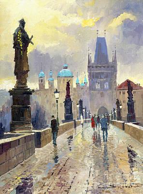Cityscape Paintings Original Artwork