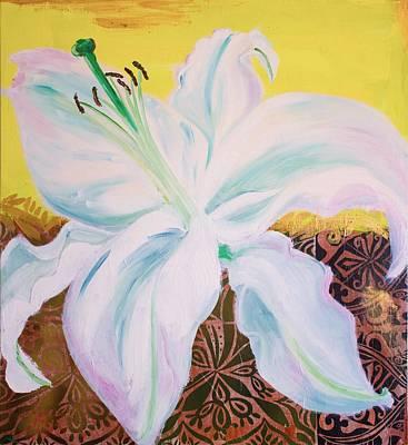 Designs Similar to White Lily On Yellow