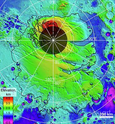 Designs Similar to Mars Southern Polar Region