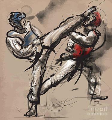 Taekwondo Wall Art