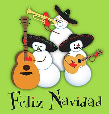 Mariachi Band Art