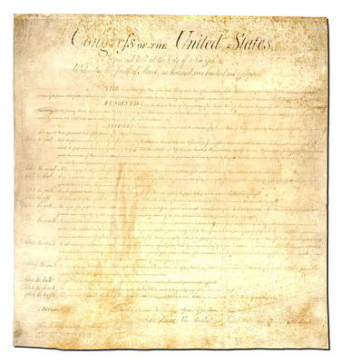 Bill Of Rights Digital Art