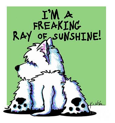 Designs Similar to Kiniart Westie Ray Of Sunshine
