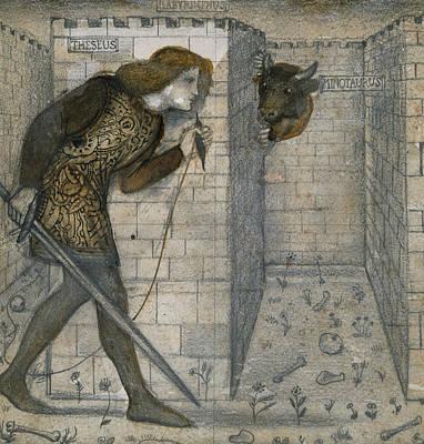Minotaur Drawings