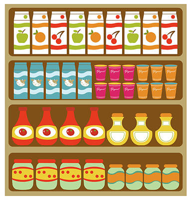 Designs Similar to Grocery Store Shelves