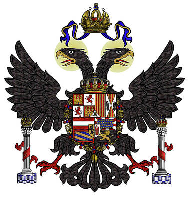 Designs Similar to Charles V - Coat Of Arms