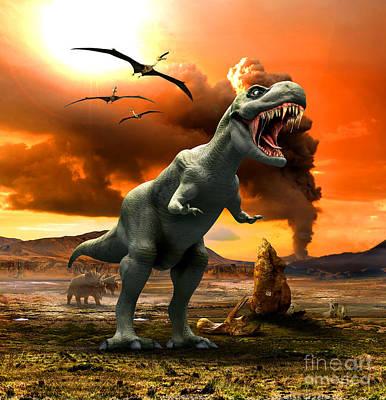 Palaeontology Art Prints