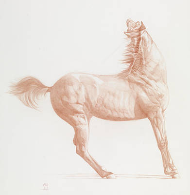 Horse Art Pastels Prints