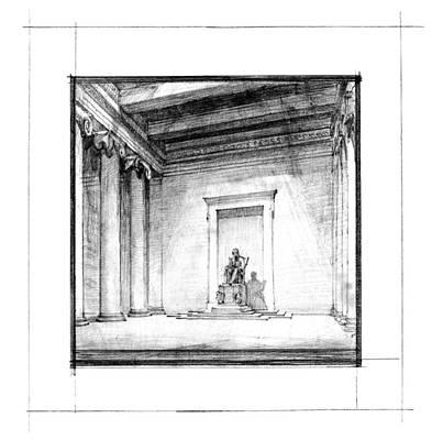 Lincoln Memorial Drawings