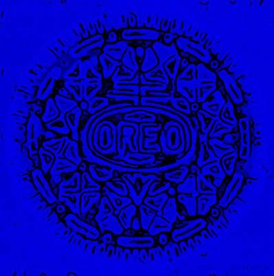 Designs Similar to Blue Oreo by Rob Hans