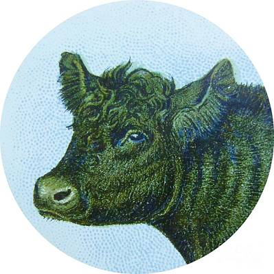 Cow And Calf Art