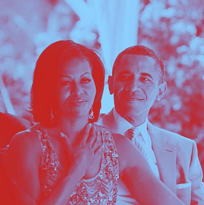 Portrait Of Michelle Obama Art