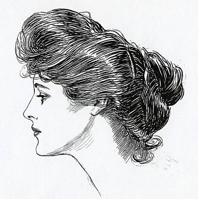 Designs Similar to A Gibson Girl, 1902