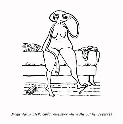 Cartoons About Women Prints