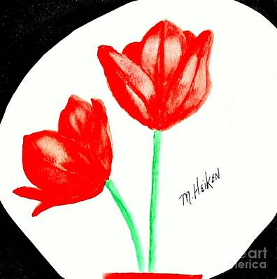 Designs Similar to Red Painted Tulips
