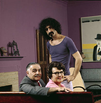 Designs Similar to Frank Zappa & His Parents